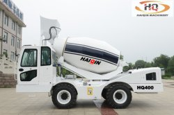Mobile Self-Loading Hydraulic Portable Cement Concrete Mixer