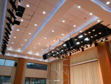 Multi-function hall stage