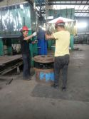Team work for rubber stator and rotor