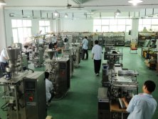 Vertical Form Fill Seal Packaging Machine Workshop