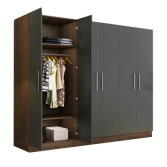 Bedroom Furniture Customized Wooden 6 Door Wardrobe