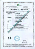 in 2010 The Latest Certificate About Infrared Barrier