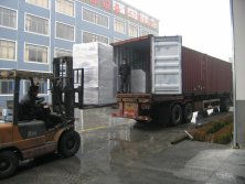 Container loading in SHanghai Lijing