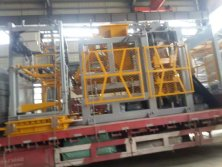 QT8-15D block machine shipped to Vietnam