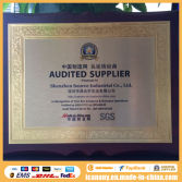 Gold Audited company supplier by SGS