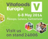 Vitafoods Europe(Geneva, Switzerland), 6-8 May 2014, Booth No.: C1-24006