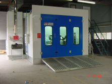 Guangli Spray booth with Australia standard