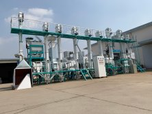 30 tons complete set rice mill machine