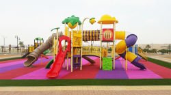 Outdoor playground in Saudi Arabia