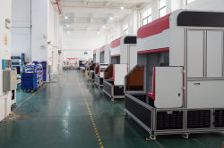 CO2 laser marking machine workshop
