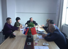 Mango company with Mr. Murin of Mutne Slovakia meeting about EVI air to heat pump big cooperation