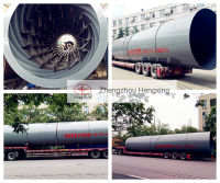 rotary dryer delivery to India