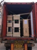 Happy Room loaded container for Brazil