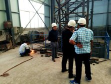 Pakistan Client Come to Visit Tavol Tower Cranes Factory