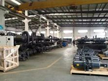 NO.2 Water Cooled Screw Chillers Production Line