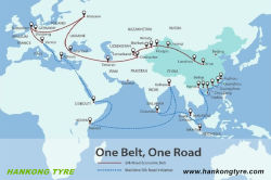HANKONG Tyre following one belt one road