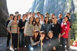 Travelling in Huangshan--Bonus for excellent employee