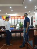 Customer Visit - Mr.Shaan Surnam from Mauritius