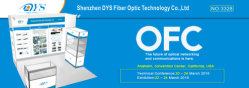 DYS will Exhibit good quality products on OFC Fair from 22th-24th, March, 2016 in USA