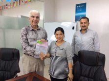 Pakistan customer visit and order