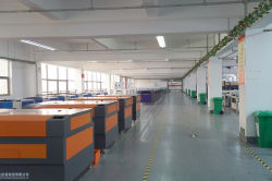 CO2 laser machine warehouse