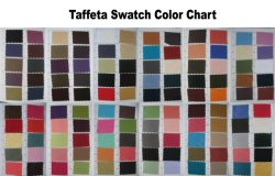 Taffeta Swatch Color Chart