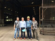 Indonesia Karakatau Steel Visiting