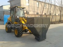Mini Loader HQ910J with CE,Yanmar engine, Agricultural tire,Hopper bucket !