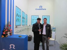 2012 ShangHai Automechanika show-with Mr. Taleb