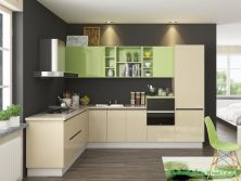 Shandong Factory New Design Costomized Kitchen Cabinet