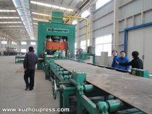 H Frame Hydraulic Press Blanking Line for Wheel spokes