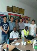 KPLC′s engineer visit Zhejiang zhongneng electrical co.,ltd