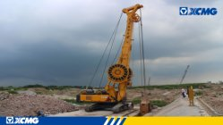 XCMG piling and non-excavation equipment applied to Indonesian Urban Complex Project.