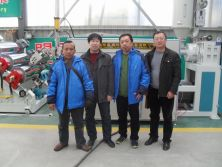 Indonesia customers visiting our plant