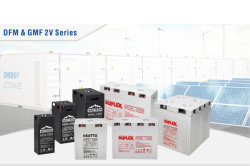 DFM and DFG 2V Long Life Storage Battery Series