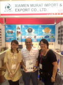 USA Couple Client on Our Booth 2012