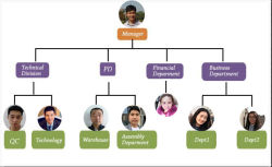 Longtime Organizational structure