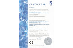 CE certificate for stator winding inserting machine