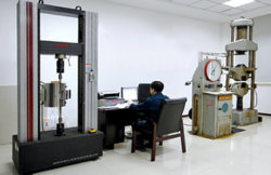 a Dongfang staff is operating the equipment