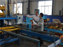 Papua New Guinea Customer Visit Reinforcing mesh welding machine