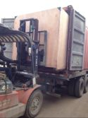 load to container