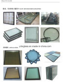 Double Glazed Glass( Color, Shape, Decorative,Blinds)