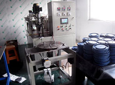 machine for pleated filter element