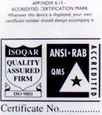 Quality Certificates - 4