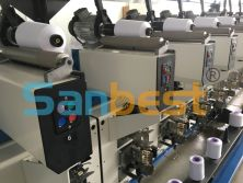Finish-winding Machine for Polyester Textured Thread