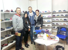 Greatshoe works in Garda Fair,Italy