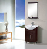 Solid Wood Bathroom Cabinet ceramics lavabo (5031)