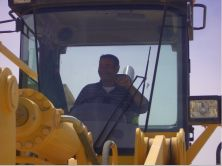 wheel loader is working in Libya