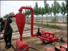 40 ton per hour cyclone sand filter for agriculture
