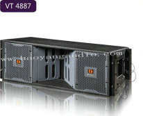 Vt4887 Dual 8 Inch Three Way Line Arrays, PRO Audio, Line Array System